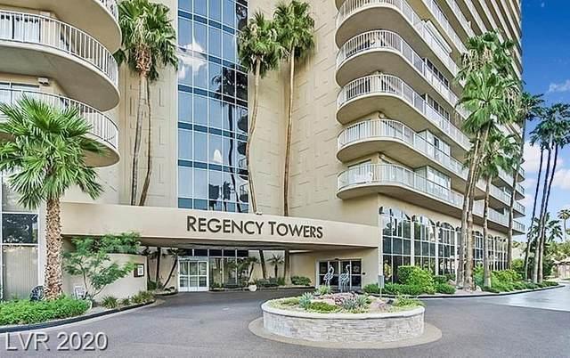 3111 Bel Air Drive 10D, Las Vegas, NV 89109 (MLS #2229227) :: The Perna Group