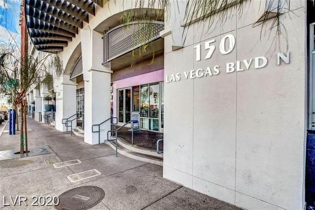 150 N Las Vegas Boulevard #1614, Las Vegas, NV 89101 (MLS #2229242) :: Jeffrey Sabel