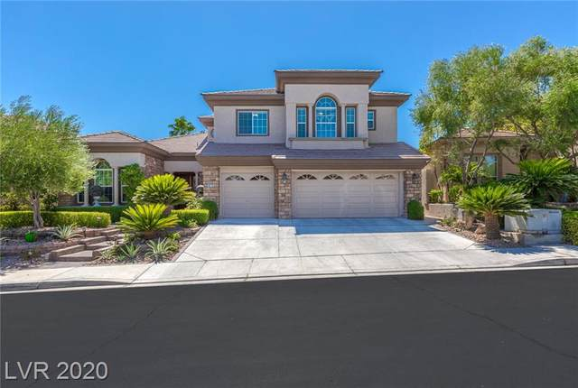 10715 Hobbiton Avenue, Las Vegas, NV 89135 (MLS #2229385) :: The Lindstrom Group