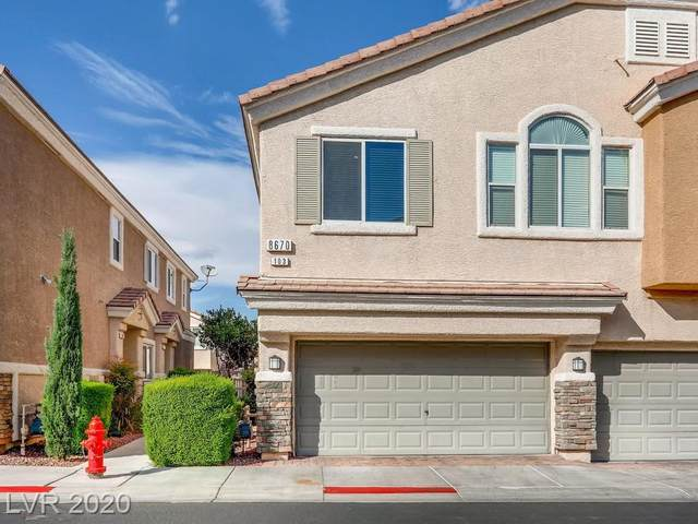 8670 Horizon Wind Avenue #103, Las Vegas, NV 89178 (MLS #2230025) :: The Mark Wiley Group | Keller Williams Realty SW