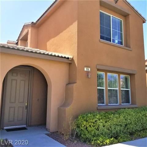 11374 Belmont Lake Drive #104, Las Vegas, NV 89135 (MLS #2230150) :: Jeffrey Sabel