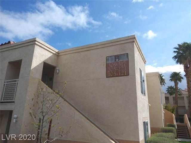 5000 Red Rock Street #205, Las Vegas, NV 89118 (MLS #2230445) :: The Lindstrom Group