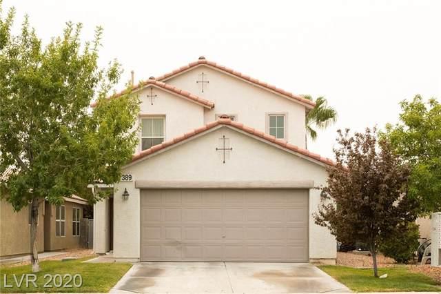 389 Silverado Pines Avenue, Las Vegas, NV 89123 (MLS #2230467) :: Jeffrey Sabel