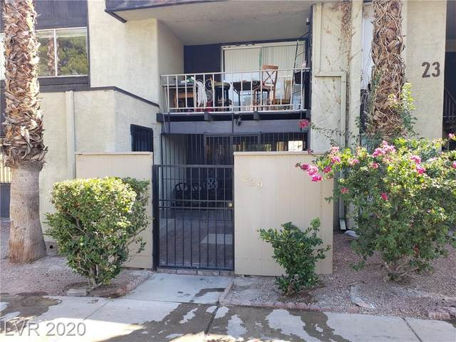 1405 Vegas Valley Drive #229, Las Vegas, NV 89169 (MLS #2230924) :: Kypreos Team