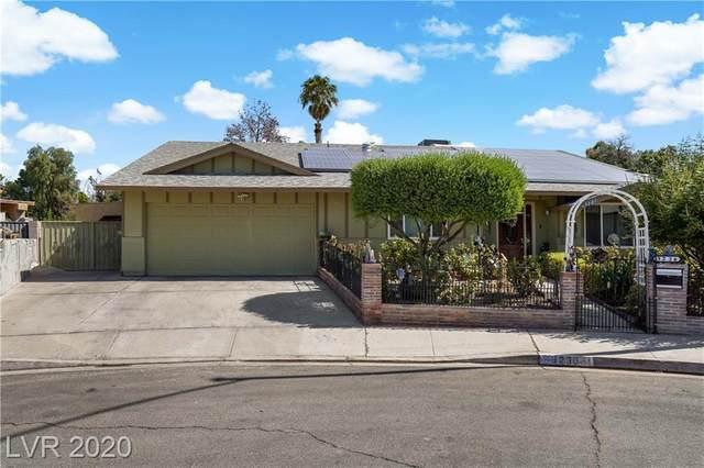3236 Robin Circle, Las Vegas, NV 89121 (MLS #2231846) :: The Lindstrom Group