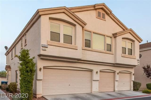 9322 Straw Hays Street #103, Las Vegas, NV 89178 (MLS #2232401) :: The Mark Wiley Group | Keller Williams Realty SW