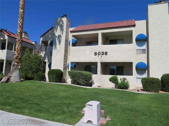5036 Newport Cove Drive C, Las Vegas, NV 89119 (MLS #2232548) :: The Perna Group