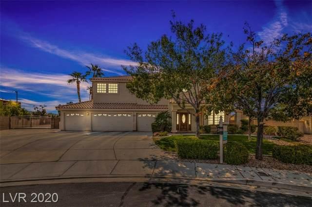 6281 Shelter Creek Avenue, Las Vegas, NV 89110 (MLS #2232563) :: The Lindstrom Group