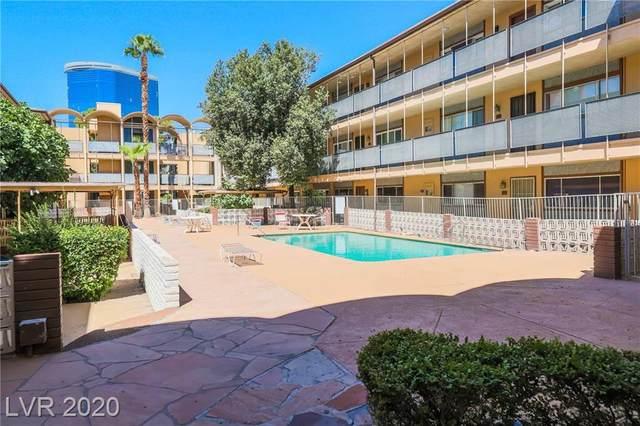 356 Desert Inn Road #215, Las Vegas, NV 89109 (MLS #2232670) :: The Perna Group