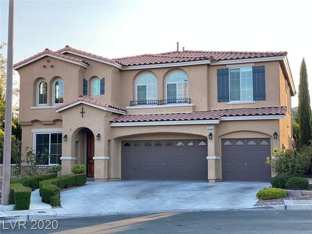553 Los Dolces Street, Las Vegas, NV 89138 (MLS #2232893) :: The Mark Wiley Group | Keller Williams Realty SW