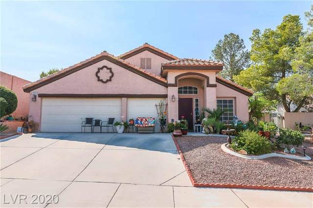 684 Mineral Hill Lane, Henderson, NV 89002 (MLS #2233271) :: The Lindstrom Group
