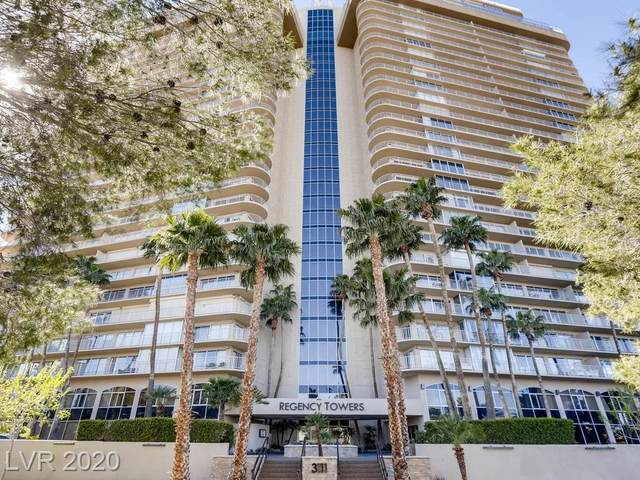 3111 Bel Air Drive 4D, Las Vegas, NV 89109 (MLS #2233987) :: The Lindstrom Group