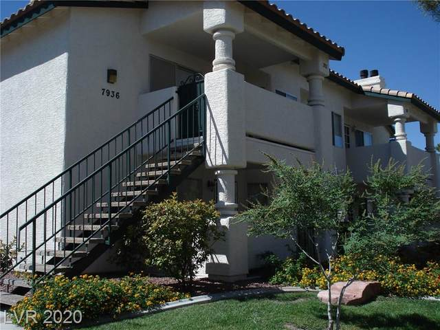 7936 Terrace Rock Way #102, Las Vegas, NV 89128 (MLS #2234630) :: The Lindstrom Group