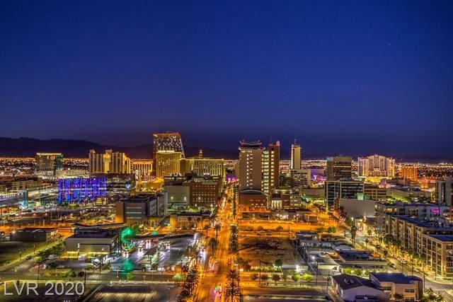 200 Hoover Avenue #1813, Las Vegas, NV 89101 (MLS #2234847) :: The Shear Team