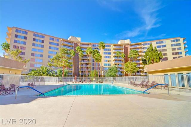 205 E Harmon Avenue #611, Las Vegas, NV 89169 (MLS #2234963) :: The Lindstrom Group