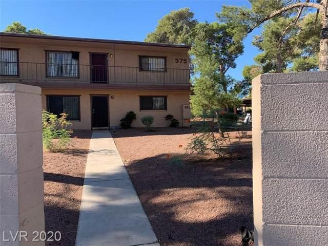 575 Royal Crest Circle #1, Las Vegas, NV 89169 (MLS #2234995) :: The Perna Group