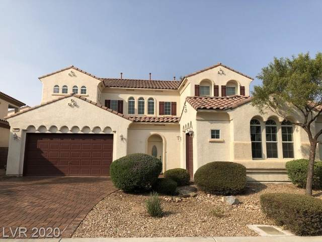 9817 Cliff Park Street, Las Vegas, NV 89178 (MLS #2235041) :: The Lindstrom Group