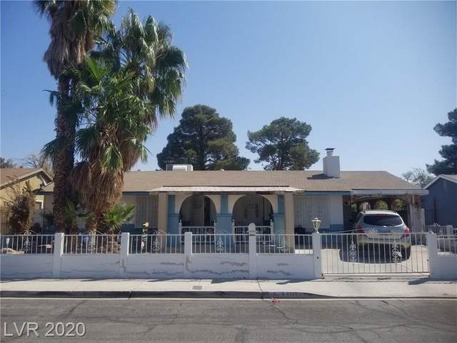 1101 Cold Stream Drive, Las Vegas, NV 89110 (MLS #2235070) :: The Lindstrom Group