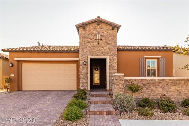 106 Brigola Street, Las Vegas, NV 89138 (MLS #2235177) :: The Lindstrom Group