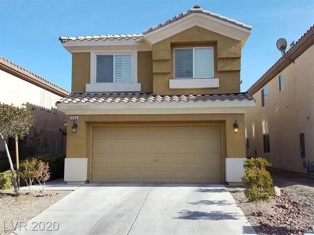 236 Fairway Woods Drive, Las Vegas, NV 89148 (MLS #2235340) :: Signature Real Estate Group