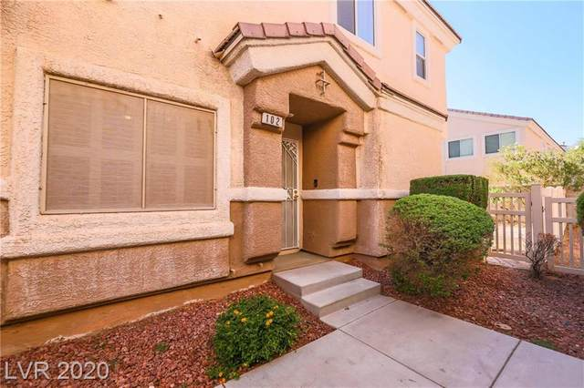 6560 Tumbleweed Ridge Lane #102, Henderson, NV 89011 (MLS #2235543) :: The Shear Team