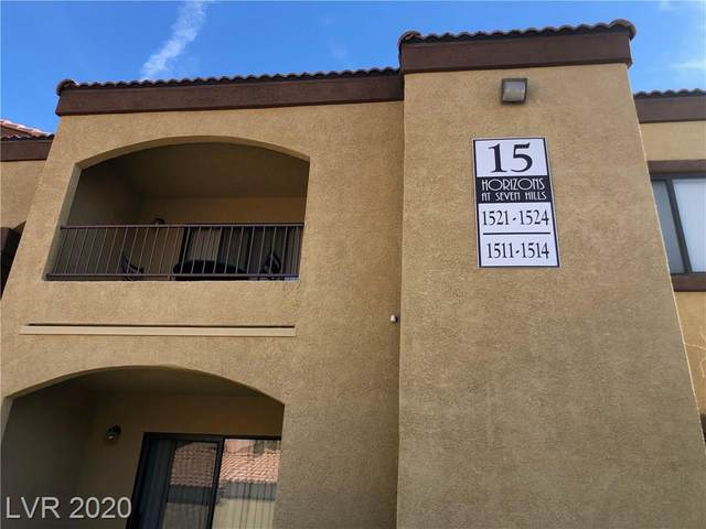 950 Seven Hills Drive #1524, Henderson, NV 89052 (MLS #2235777) :: The Perna Group