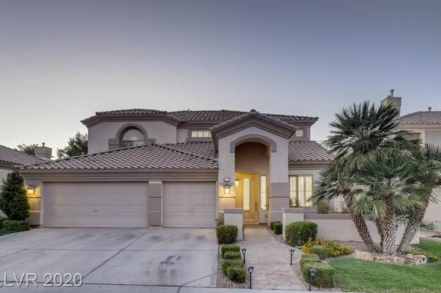 137 Chateau Whistler Court, Las Vegas, NV 89148 (MLS #2235934) :: The Shear Team