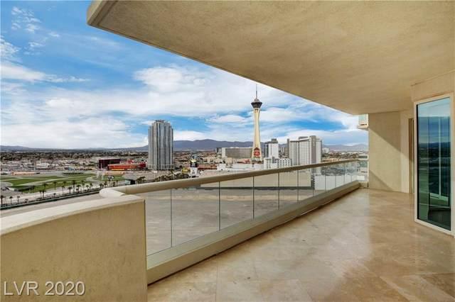 2747 Paradise Road #1806, Las Vegas, NV 89109 (MLS #2236000) :: Kypreos Team