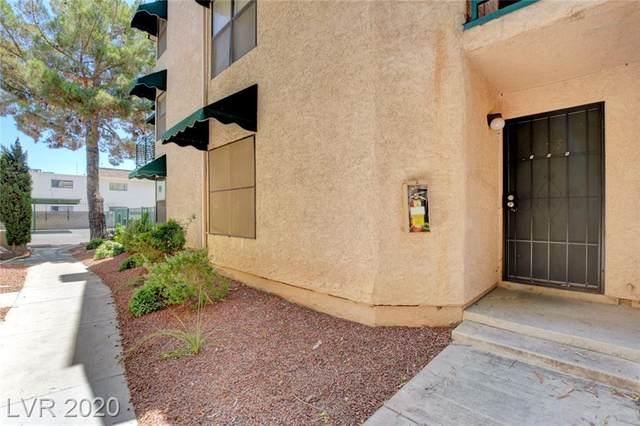 540 Elm Drive #105, Las Vegas, NV 89169 (MLS #2236100) :: The Perna Group
