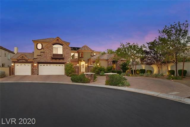 308 Prince Charming Court, Las Vegas, NV 89145 (MLS #2236263) :: The Lindstrom Group