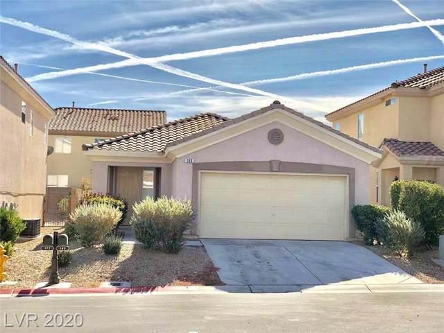 183 N Paxon Hollow Court, Las Vegas, NV 89148 (MLS #2236405) :: Hebert Group | Realty One Group