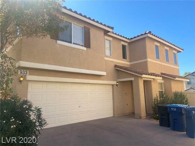 933 Monte De Oro Avenue, Las Vegas, NV 89183 (MLS #2236661) :: The Shear Team