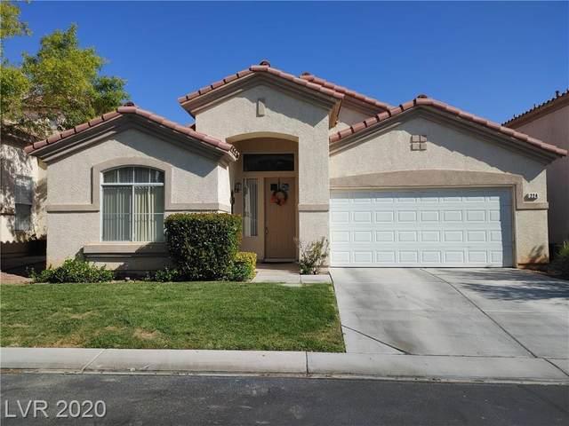 224 Sea Rim Avenue, Las Vegas, NV 89148 (MLS #2237336) :: The Perna Group