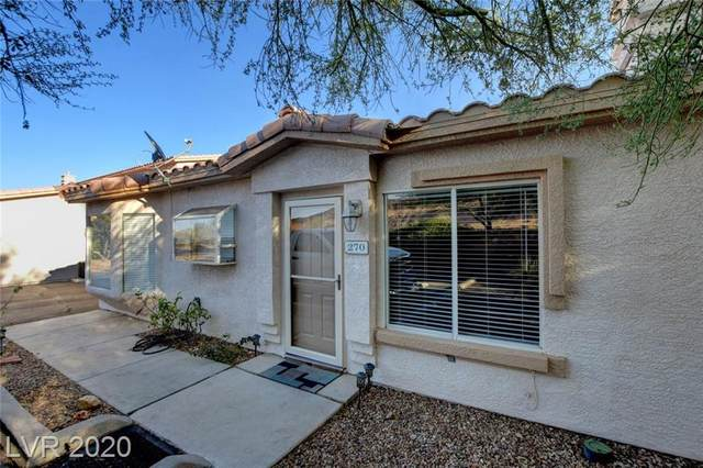 270 Big Horn Drive, Boulder City, NV 89005 (MLS #2238110) :: The Perna Group