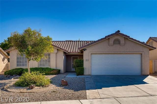 701 Tonin Avenue, North Las Vegas, NV 89031 (MLS #2238294) :: The Lindstrom Group