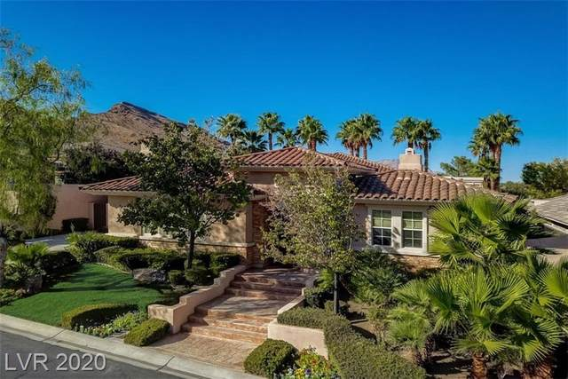 11590 Evergreen Creek Lane, Las Vegas, NV 89135 (MLS #2238689) :: The Lindstrom Group