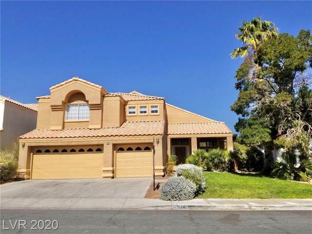 9316 Jadecrest Drive, Las Vegas, NV 89134 (MLS #2238690) :: The Lindstrom Group