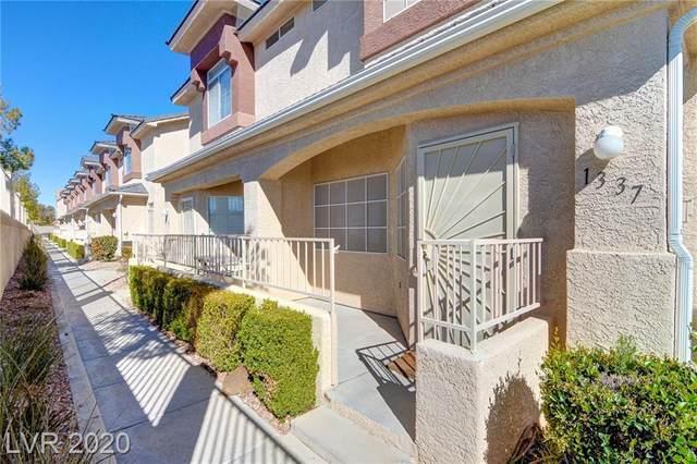 1337 Silver Sierra Street, Las Vegas, NV 89128 (MLS #2238795) :: The Lindstrom Group