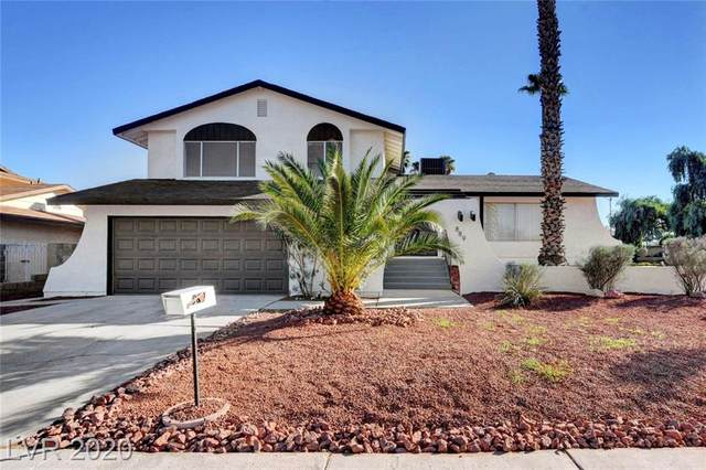 889 Monika Way, Las Vegas, NV 89119 (MLS #2239171) :: Kypreos Team