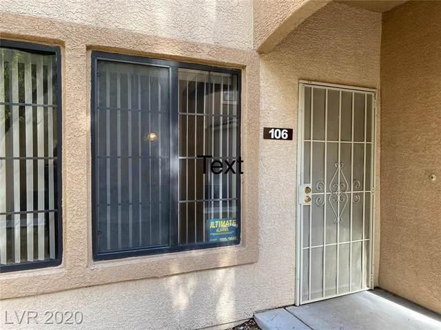 2101 Hussium Hills Street #106, Las Vegas, NV 89108 (MLS #2239575) :: Jeffrey Sabel