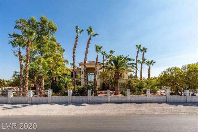 10710 Rancho Destino Road, Las Vegas, NV 89183 (MLS #2239591) :: Hebert Group   Realty One Group