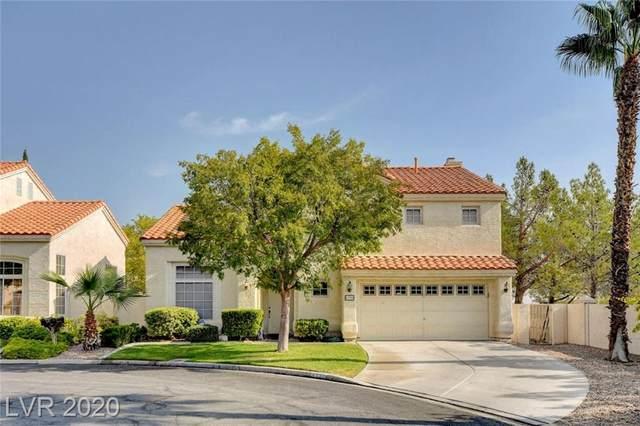 8700 Crescent Ridge Lane, Las Vegas, NV 89134 (MLS #2239837) :: Jeffrey Sabel