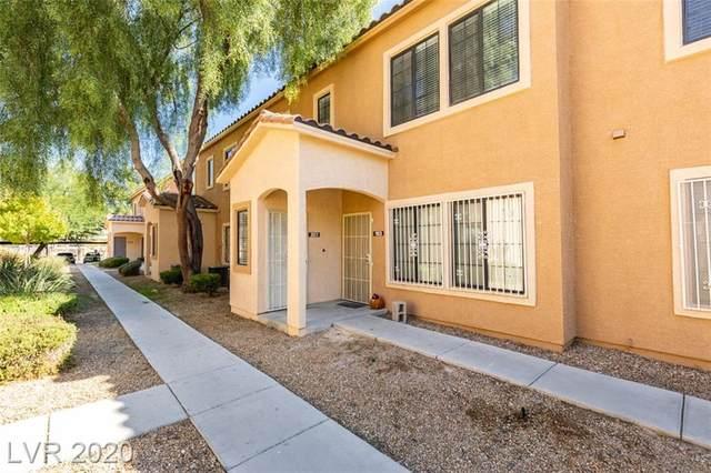 2111 Hussium Hills Street #203, Las Vegas, NV 89108 (MLS #2240007) :: Kypreos Team