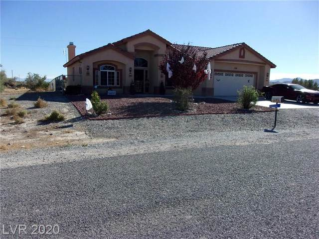 1581 Finehill Street, Pahrump, NV 89060 (MLS #2240025) :: The Lindstrom Group
