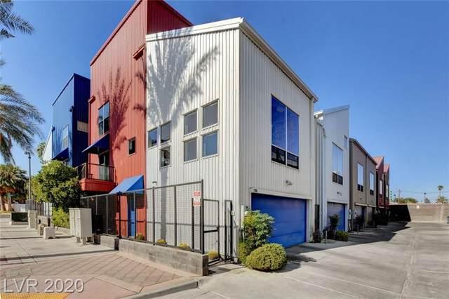 1106 E Carson Avenue, Las Vegas, NV 89101 (MLS #2240044) :: Hebert Group | Realty One Group