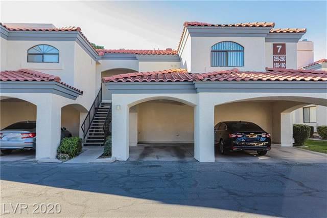 8455 Sahara Avenue #155, Las Vegas, NV 89117 (MLS #2240148) :: The Perna Group