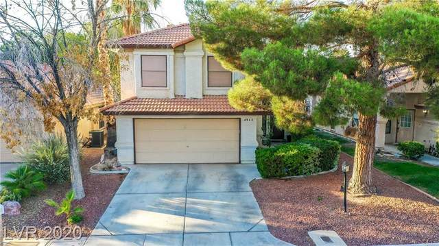 4913 Fiesta Lakes Street, Las Vegas, NV 89130 (MLS #2240261) :: The Lindstrom Group