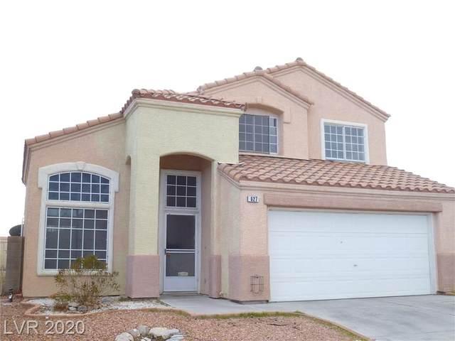 627 Rancho Del Norte Drive, North Las Vegas, NV 89031 (MLS #2240320) :: Kypreos Team