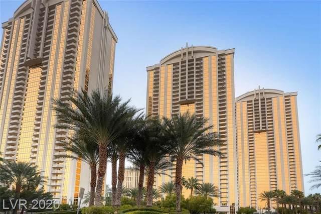 125 E Harmon Avenue #2505, Las Vegas, NV 89109 (MLS #2240344) :: Kypreos Team