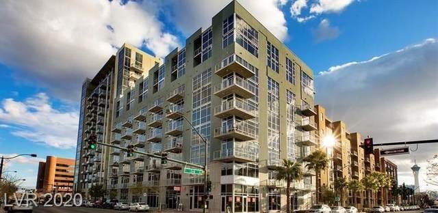 353 Bonneville Avenue #255, Las Vegas, NV 89101 (MLS #2240440) :: Signature Real Estate Group
